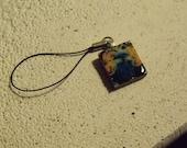 Little Known Van Gogh: Exploding TARDIS Scrabble Tile