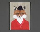 Art Print - Fox - Signed by Artist - 8x10 // 16x20 // 22x28