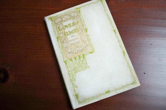 """Vintage """"Lovers Alway"""" 1900 F.B. Meyer Wedding Treasure"""