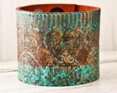 Turquoise Jewelry Cuff Bracelet Wristband OOAK