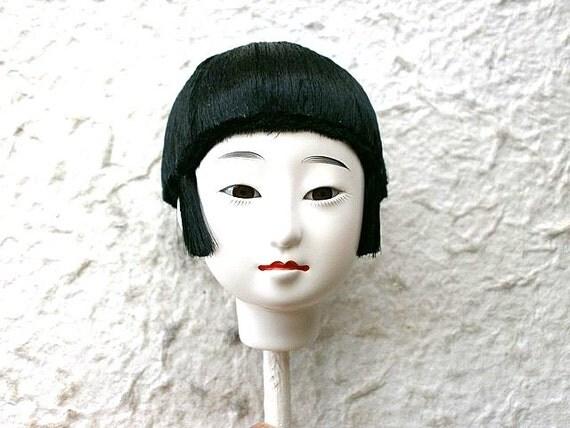 Japanese Doll Head Hina Matsuri Girl B