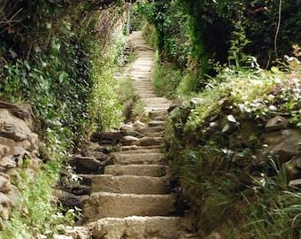 Stairway to Heaven, Fine Art Print, Italy