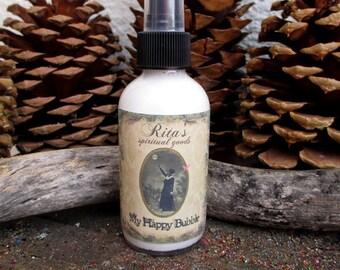 Rita's My Happy Bubble Spiritual Mist Spray - Happiness - Pagan, Witchcraft, Hoodoo, Juju