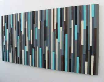 Modern Wood Sculpture - Wood Wall Art - Abstract Painting - Wood Wall Sculpture - Modern Art - Wall Hanging