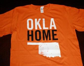 OklaHome T-shirt - Orange (Medium)