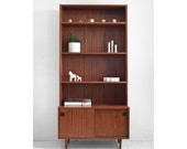 On Hold until March 5th - Mid Century Danish Rosewood Wall Unit - Credenza, Hutch, Cabinet, Modern, Wood