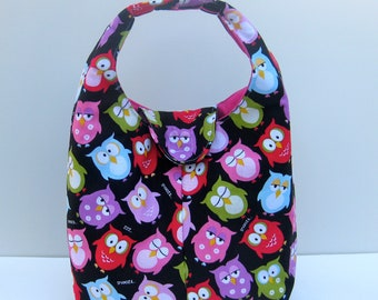 Insulated Lunch Bag - Cute Owls