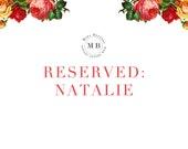 RESERVED for Natalie 8 Custom Illustrations