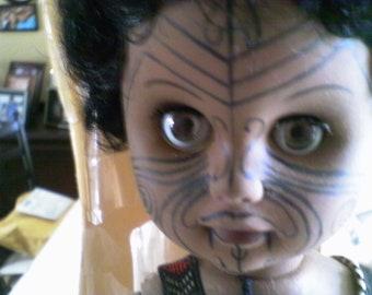 Vintage New Zealand Moari Doll