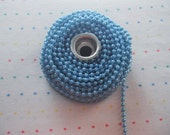 Turquoise Pearl Trim - 3 Yards