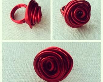 Rose Ring- Red