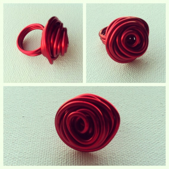 Rose Ring- Red