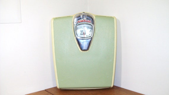 Vintage Detecto Bathroom Scale Light Green and Off by ...