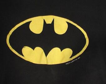 Batman tshirt shirt vintage grunge 90s punk goth alternative industrial L XL 42 44 black shirt