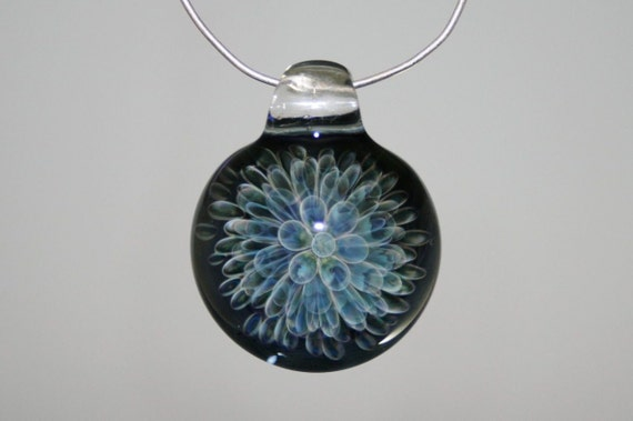 Glass Pendant - Handblown Lampwork Boro Focal Bead - Glass Jewelry- Kyle Keeler