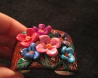 Fantasy Garden Cuff Bracelet