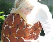 SALE Mendicino Mermaids- Adjustable Baby Sling