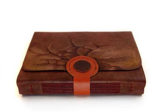 Weathered Dream Leather Journal with Vintage Style Pages