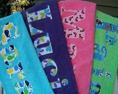 Personalized Towels for Beach or Bath-Perfect for the Whole Family