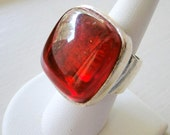 Unisex Ring  Metal Pointu Designer Bernard Bouhnik