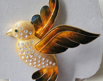 SALE 5 Inch BIG Bird Brooch