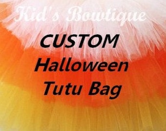 CUSTOM LISTING: 2 Halloween Trick or Treat Bags to add to your Peter Pan and Tinkerbell Halloween Costumes