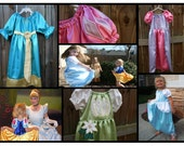 Princess Dress 4 pack - dress up costume gowns perfect for Disney SPECIAL