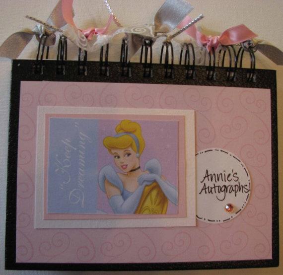 Cinderella  Autograph Book - 80 pages