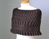DARCY, Knitting capelet pattern pdf