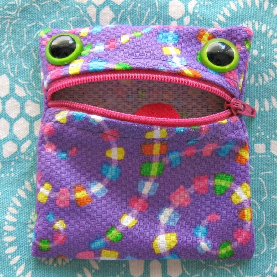 Coin Purse Monster Frog Pouch