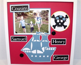 Personalized Cousins Picture Frame 8x10 By Memoreasykeepsakes