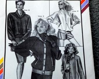 Vintage Stretch and Sew 1018 Saddle-shoulder jackets