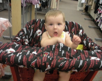 Arizona Cardinals Baby - Shopping Cart Cover