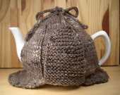 Made to Order - Sherlock Holmes' Favorite Tea Cosy- A warm and whimsical sweater for your teapot
