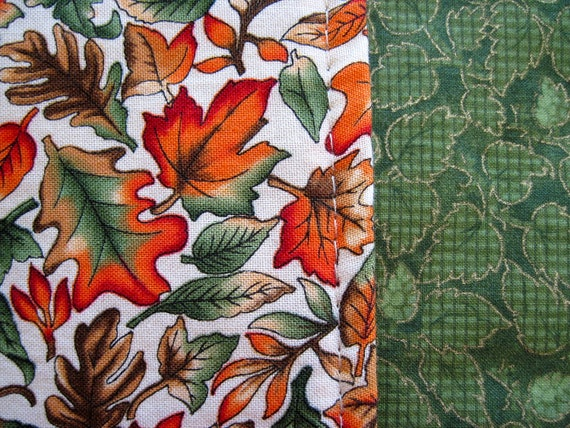 SALE Runner Changing Fall Leaves-54 inch Reversible Autumn Table Runner