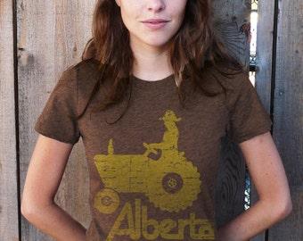 ALBERTA (VINTAGE EDITION) t-shirt (Brown)
