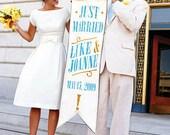 Kate Dress Bateau Neck 60s Retro Wedding Dress White