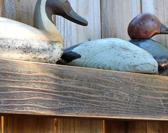 Reclaimed Wood - Floating Wall Shelf - Farmhouse Chic - Shelves - Old Wooden Shelving - 40 Inches Long