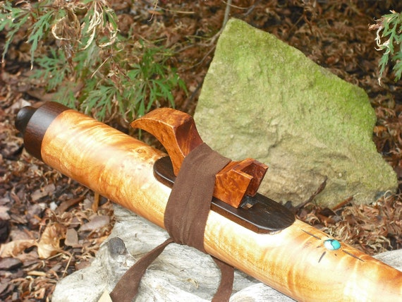 Native American Style Flute Low C from Maple Burl from the Tree of LIfe Designs workshop