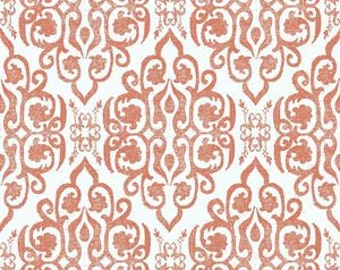 Ty Pennington Impressions Tudor in Spice Home Dec fabric by the yard