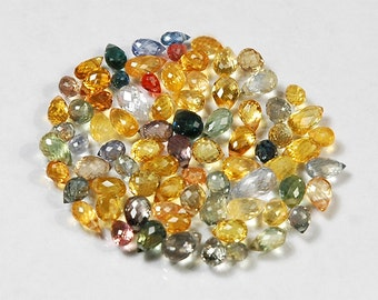 WE SELL QUALITY - Large Size High Grade, Natural Sapphire Briolettes / Drilled / Item B45