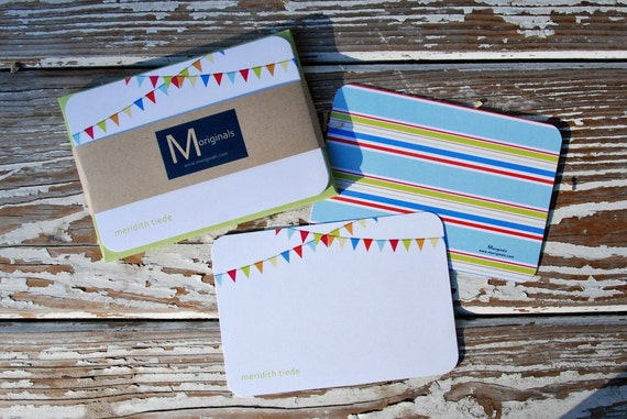 Personalized Notecards - Set of 8 - Penelope Notes