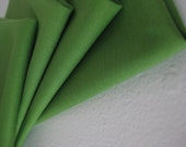 Cloth Napkins - Kelly - 100% Cotton