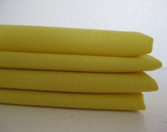 Cloth Napkins - Lemon - 100% Cotton