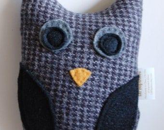 Plush OWL toy - Scout - children gift woodland - stocking stuffer