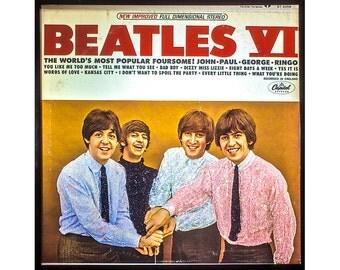Glittered Vintage Beatles VI Album