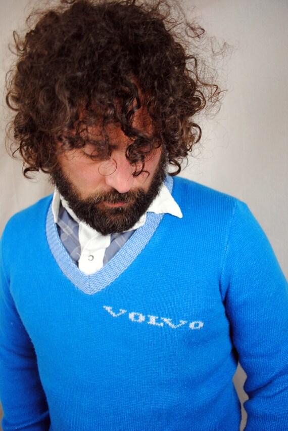 Vintage 1980s Volvo Knit Sweater
