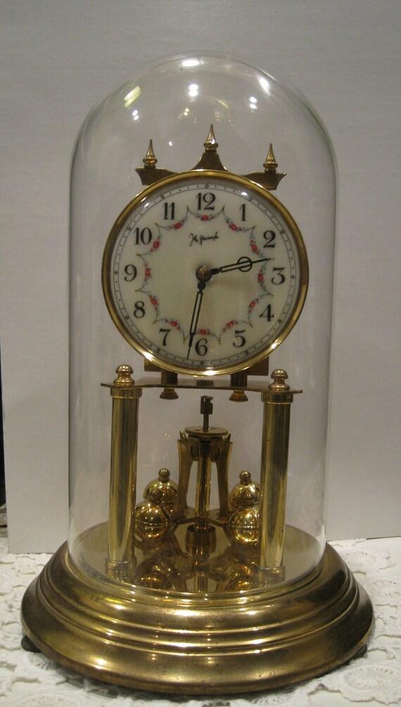 Vintage German 400 Day Anniversary Clock John By