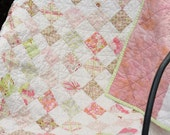 Baby Patchwork Quilt - Coquette