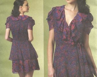 Vogue V1178 Anna Sui Dress size 14-16-18-20 FF